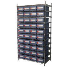Estantes de fio de armazenamento de dados personalizada com compartimento de armazenagem em prateleiras