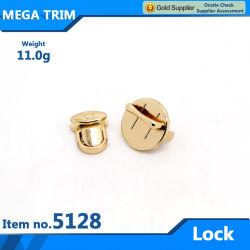 N° 51283 la lumière de l'or pour les bagages de blocage du matériel