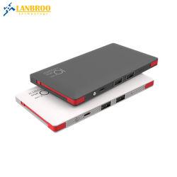 La Banca veloce sottile eccellente di potere della carica con il fornitore professionista dell'OEM del caricatore portatile del telefono mobile del cavo in-1 10000mAh di Built-in 2