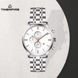Het Lichtgevende Horloge van het Horloge van Mens van de Chronograaf van het Roestvrij staal van de Beweging van het kwarts (72202)