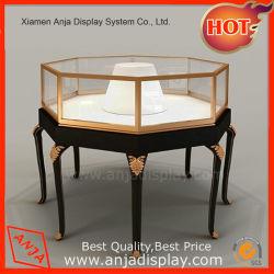 Promoção de estilo moderno jóias de madeira Exibir vitrine para armazenar