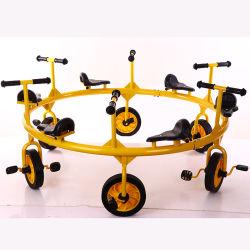 بالجملة مزح بلاستيك خارجيّة سيدة طفلة معدن درّاجة ثلاثية
