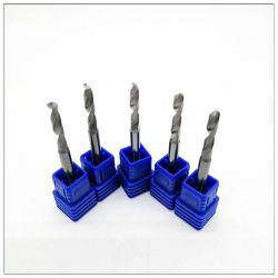 Tige droite en carbure monobloc en gros des forets hélicoïdaux & Centre perceuses et forets de spots