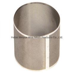 Перфорированной металлической трубы фильтра для нефти и химии фильтрации