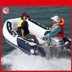 Venta caliente bote hinchable casco rígido personalizadas de pesca en bote inflable de la paleta del zodíaco