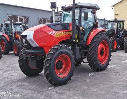 Fabricado en China 150 CV 4WD 4/6 Cilindro caminando de la Maquinaria Agrícola Tractores Agrícolas