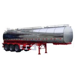3 차축 BPW 알루미늄 합금 기름 연료 유조선
