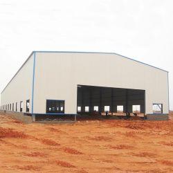 Helles Stahlkonstruktion-landwirtschaftliches Gebäude mit Isolierungs-Bogen-Dach