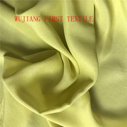 Crêpe de soie Tissu, tissu double crêpe de soie. Tissu Dobby crêpe de soie