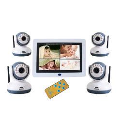 Monitor van de Baby van 7.0 Duim de Digitale Draadloze Video met 4 Camera's