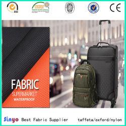 Haute qualité PU/Polyester étanche recouvert de PVC/nylon 1680D Oxford Tissu pour valise
