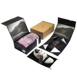 Chaussures Floded Creative facile à l'emballage de l'emballage carton Boîte d'affichage de stockage