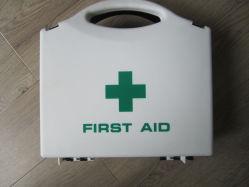 Vider les boîtes de premiers secours faite par l'ABS ou le matériel en PP