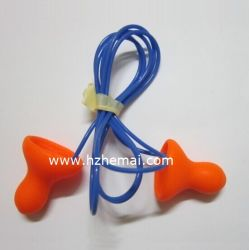 ワイヤーで縛られた鐘使い捨て可能なPUの泡の耳せん