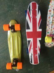 Fisch-Skateboard mit Farbenkastenverpackung (ET-PSY001)
