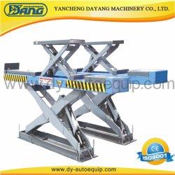 В соответствии с массой двойной гидравлический подъемный стол ножничного типа автомобиля с емкостью 3500кг