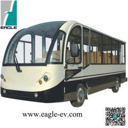 電気小型バス、閉じる堅いドアと、14のシート、セリウムの証明書