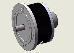 Pancake moteur BLDC électrique du moteur de 4000W 48V moteur CC sans balai pour bateau Électrique, Véhicule, véhicule à chenilles