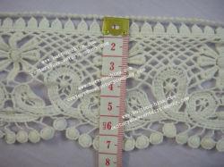 Manufactura 007 Nuevo diseño de moda de encaje de ganchillo algodón