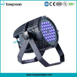 Высокая мощность для использования вне помещений 36*3 Вт Светодиодные PAR УФ лампа черного цвета