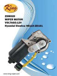 12VヒュンダイElantra、OE 98110-2D101のOEの品質のための前部ワイパーモーター