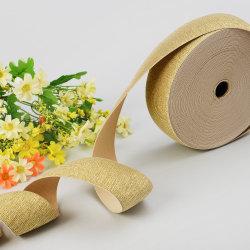 Fascia elastica decorativa in oro metallizzato da 2''