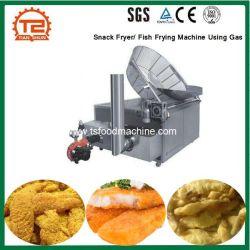 競争の価格の軽食 Fryer/Fish Frying 機械はガスを使用して