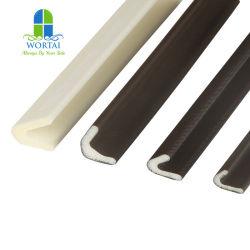 강철 또는 금속 도어용 PU 폼 V형 자체 접착식 씰 웨더스티프 씰
