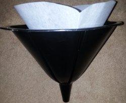 Papier filtre à huile de friture 45GSM