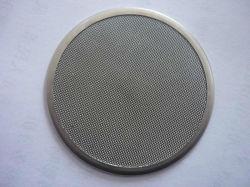 カスタマイズされた編まれた金網の円の円形の押出機スクリーンフィルターディスク