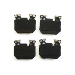 D1372 Ceramic Brake Pads Auto Accessory voor BMW 135is (PA1831/FDB4217)