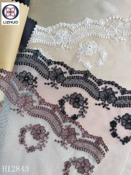 Alta qualidade de malha delicados bordados Lace Tules Bordados rendas para Lingerie