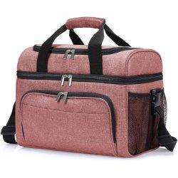 300D polyester pique-nique de Plein Air Bag Lunch Bag Sac thermique du refroidisseur d'isolation