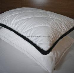 Gestepptes Polyester-Kissen-Shell, Polyester-Hotel-Kissen-Schoner mit weißer Farbe