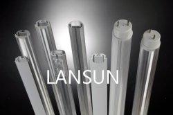 A luz de LED a tampa do difusor de alumínio perfil LED