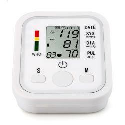 Tipo de brazo de la presión arterial inteligente / monitor de ritmo cardíaco a casa y Hospital tensiómetro digital