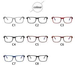 高品質の贅沢な Chasma は長方形デザイナー光学フレームデザイナーを製造する 読書用メガネ光学式最新眼鏡