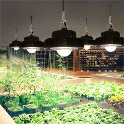 LA PANNOCCHIA LED del UFO piena Cxb3590 IP66 della tenda del kit della pianta d'appartamento 100W DIY di spettro coltiva gli indicatori luminosi