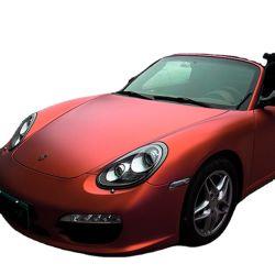 precio de fábrica de 1.52*18m/rollo sin burbujas de cromo mate auto adhesivo o coche decoración corporal