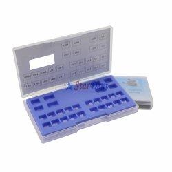 Китай питания стоматологическая ортодонтические материалы в моноблочном исполнении в мини-Рот керамические ортодонтические скобы