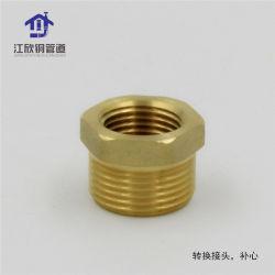 Bucha de latão Coulping Macho de montagem do tubo de água aprovado da marca de água