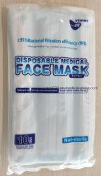 医療用フェイスマスク調節可能なイヤループマスク付き使い捨て無滅菌非 Woven