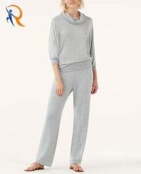 Женщин одежда Super Soft с ребрами наклон брюки Rtm-050