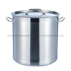 Comercio al por mayor Cocina Ollas de acero inoxidable de alta calidad de la olla de sopa