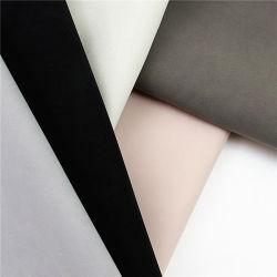 Hochwertiges Yangbuck Nubuck Wildleder PU Kunstleder Material für Schuhe und Taschen