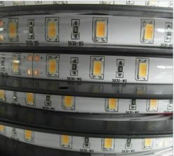لوحة PCB سوداء IP65 غراء سيلسيكون SMD5050 30 صمام LED رقمي 2811ws شريط LED