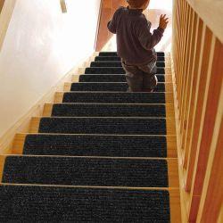 미끄럼 방지 계단 깔개 실내 계단형 어린이 및 개 러너