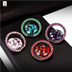 Cristal luxo jóias estilo de toque Telefone Suporte de pega titular