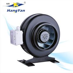 Hot sales AC 200mm 250mm Inline conduit du ventilateur centrifuge avec boîtier en métal