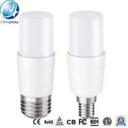 E27/E14/B22/G24 소형 LED T 모양 전구 램프